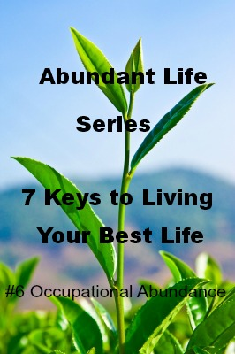 The Abundant Life – 7 Keys to Living Your Best Life: #6 Occupational Abundance