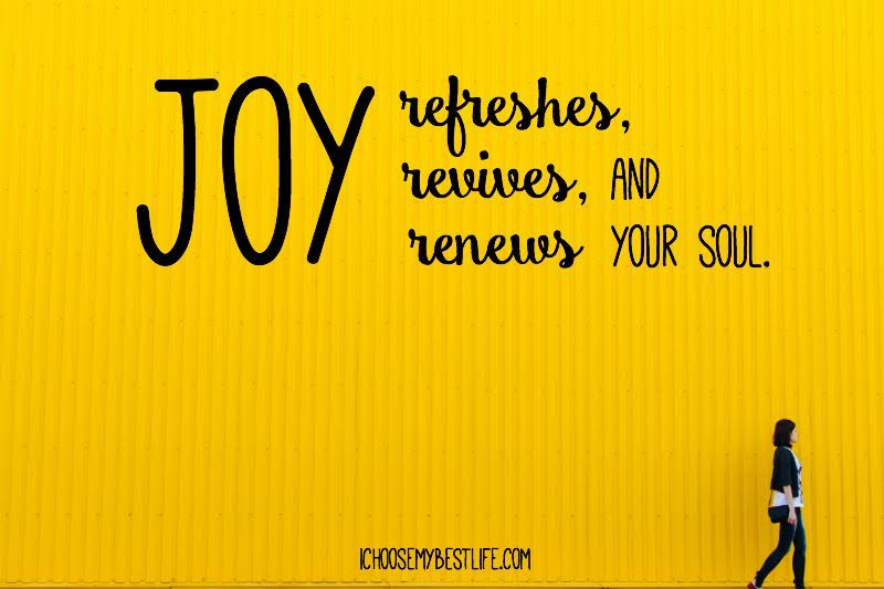 Joy: A Prescription For The Stressed Out
