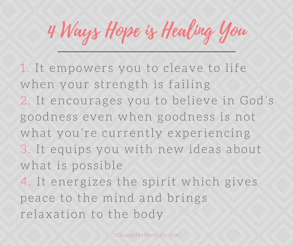4 ways hope is the healing we truly need...