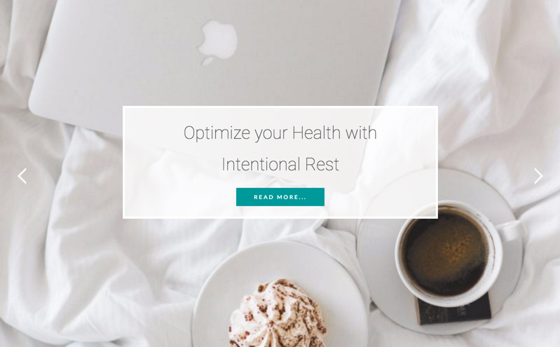 Optimize your Health with Intentional Rest