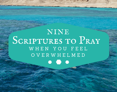 9 Scriptures To Pray When You Feel Overwhelmed