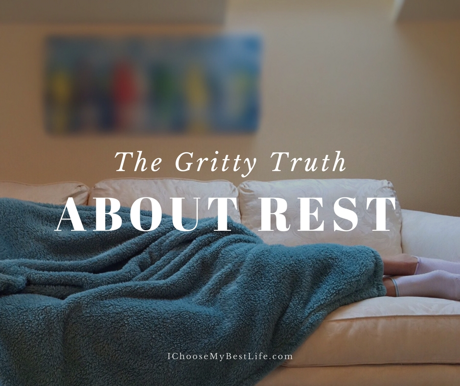 The truth about rest...