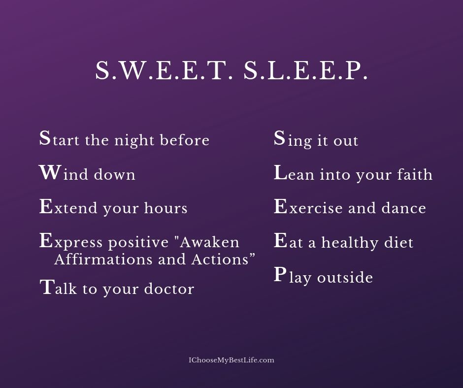 10 tips to get better sleep